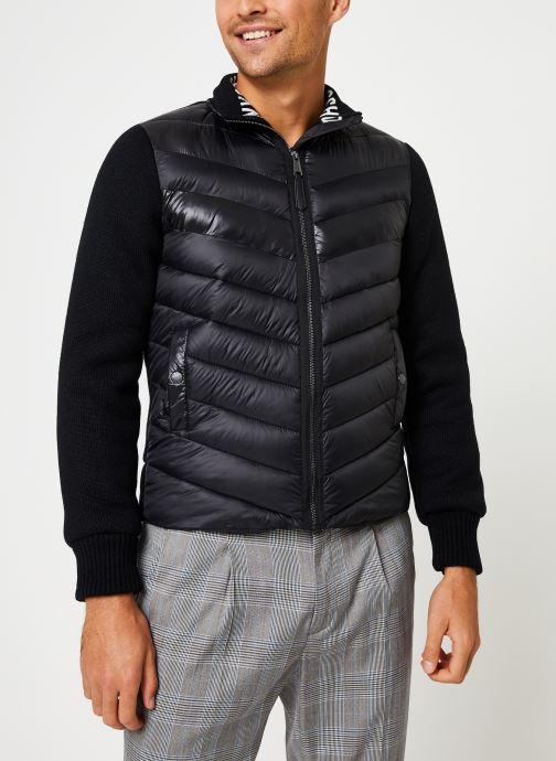 Vêtements Schott Blouson Bi-Matiere Robson 20 M Noir vue détail/paire