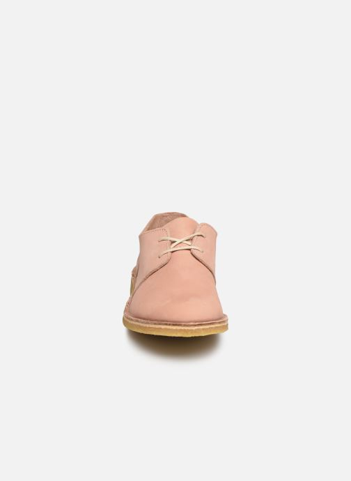 Chaussures à lacets Kickers Talia Rose vue portées chaussures