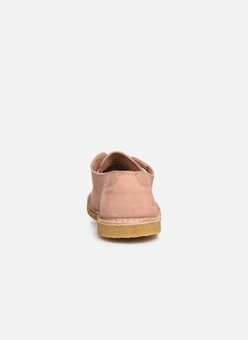 Chaussures à lacets Kickers Talia Rose vue droite