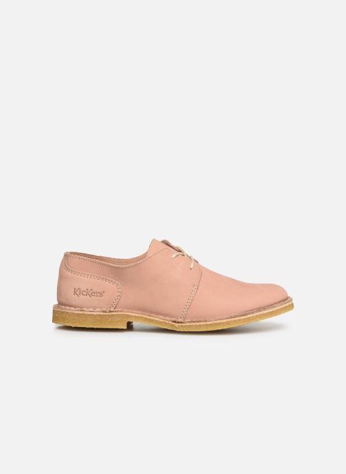 Chaussures à lacets Kickers Talia Rose vue derrière
