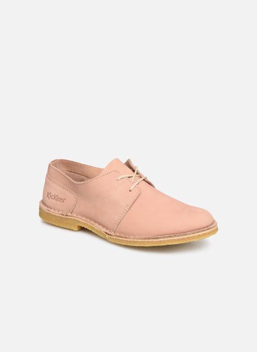Chaussures à lacets Kickers Talia Rose vue détail/paire