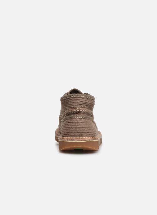Bottines et boots Kickers Neotreck Vert vue droite