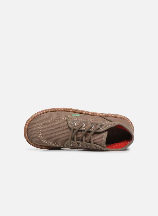 Bottines et boots Kickers Neotreck Vert vue gauche