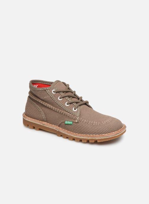 Bottines et boots Kickers Neotreck Vert vue détail/paire