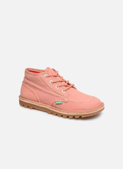 Ankelstøvler Kickers Neotreck Pink detaljeret billede af skoene