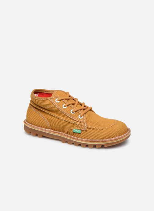 Bottines et boots Kickers Neotreck Jaune vue détail/paire