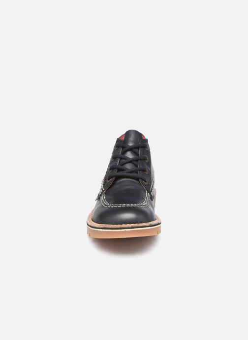 Bottines et boots Kickers Neotreck Noir vue portées chaussures
