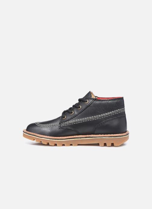 Bottines et boots Kickers Neotreck Noir vue face