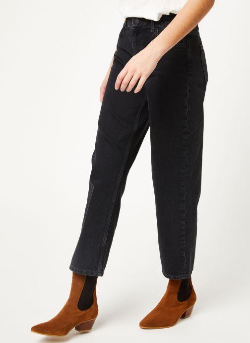 Vêtements MOSS COPENHAGEN Crystal Straight Jeans Noir vue détail/paire