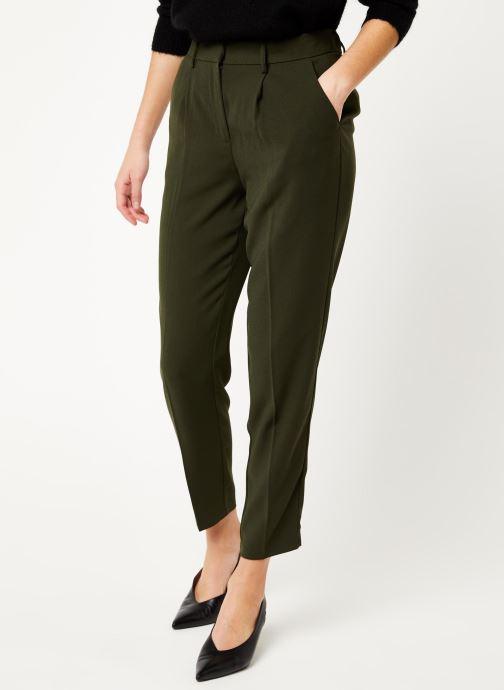 Vêtements MOSS COPENHAGEN Zina More Pants Vert vue détail/paire