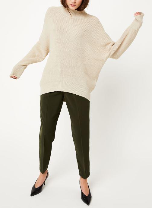 Vêtements MOSS COPENHAGEN Dalina Ls Pullover Blanc vue bas / vue portée sac