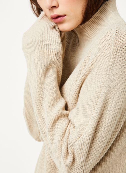 Vêtements MOSS COPENHAGEN Dalina Ls Pullover Blanc vue face