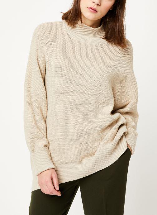 Vêtements MOSS COPENHAGEN Dalina Ls Pullover Blanc vue détail/paire