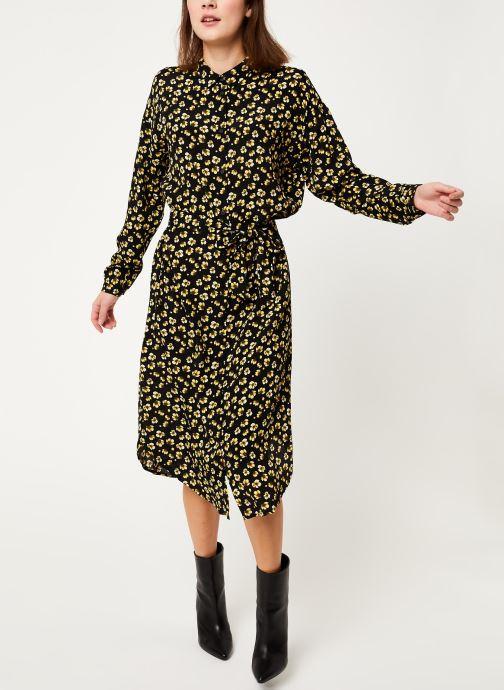 Vêtements MOSS COPENHAGEN Amber Genni Ls Dress Aop Noir vue bas / vue portée sac