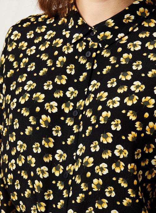 Vêtements MOSS COPENHAGEN Amber Genni Ls Dress Aop Noir vue face