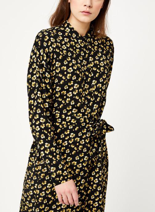 Vêtements MOSS COPENHAGEN Amber Genni Ls Dress Aop Noir vue détail/paire