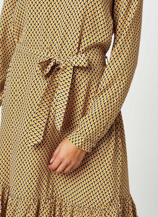 Vêtements MOSS COPENHAGEN Charlotte Morocco Ls Dress Aop Beige vue face