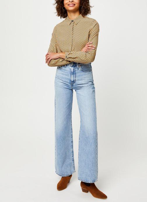 Vêtements MOSS COPENHAGEN Blara Morocco Ls Shirt Aop Beige vue bas / vue portée sac
