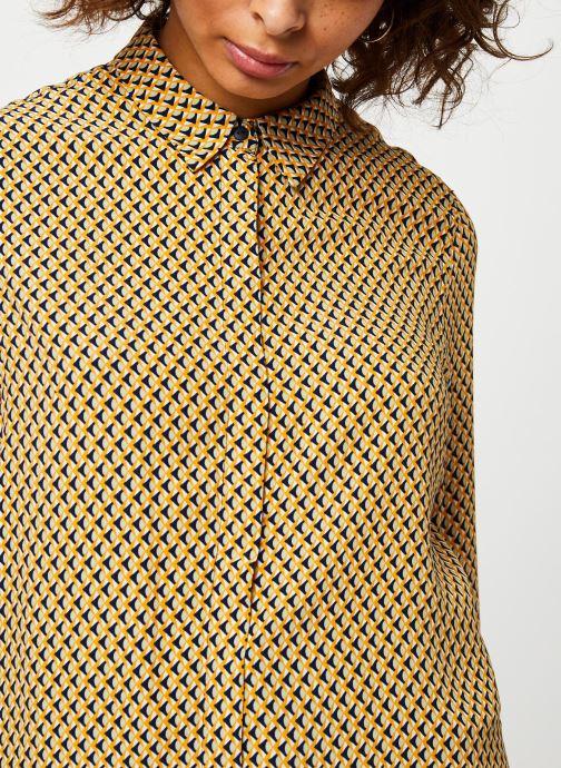 Vêtements MOSS COPENHAGEN Blara Morocco Ls Shirt Aop Beige vue face