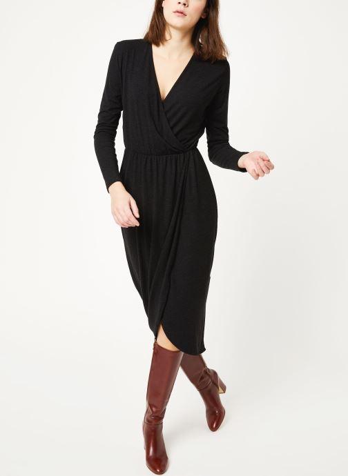 Vêtements MOSS COPENHAGEN Allu Wooltouch Ls Dress Noir vue bas / vue portée sac