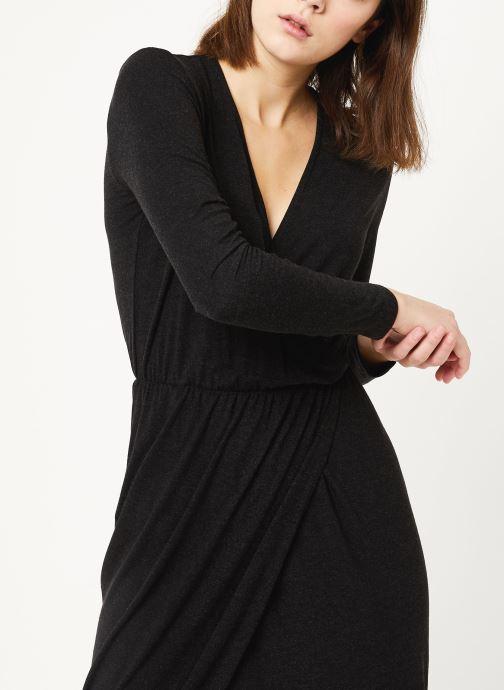 Vêtements MOSS COPENHAGEN Allu Wooltouch Ls Dress Noir vue droite