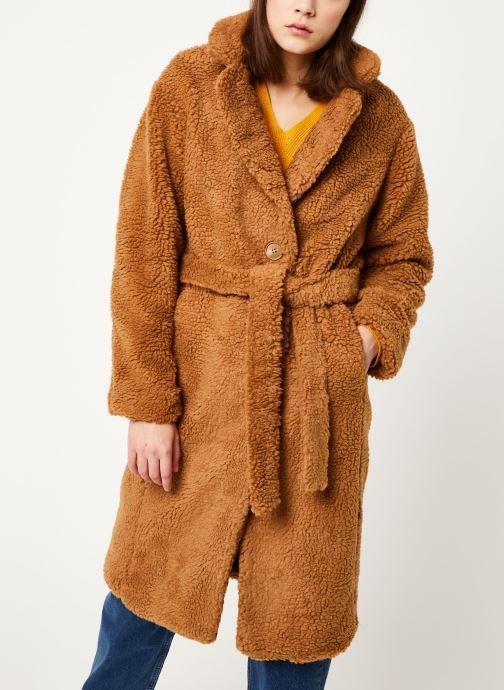 Vêtements MOSS COPENHAGEN Nola Teddy Jacket Marron vue détail/paire