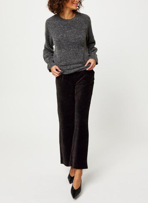 Vêtements MOSS COPENHAGEN Giselle Alpaca Pullover Gris vue bas / vue portée sac