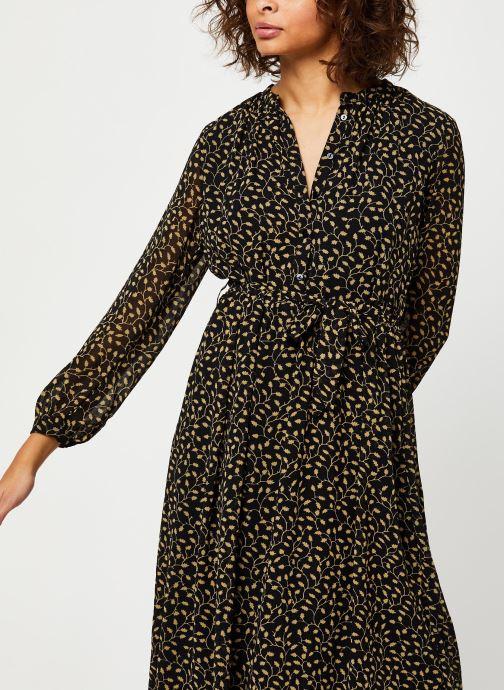 Vêtements MOSS COPENHAGEN Audrina Dress Aop Noir vue détail/paire