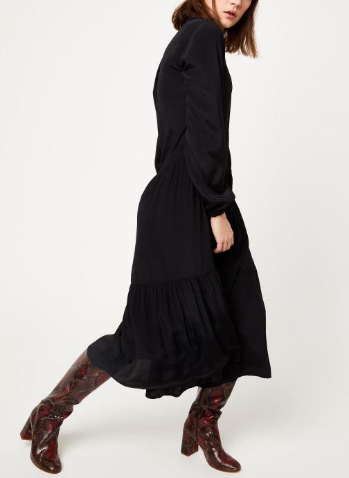 Vêtements MOSS COPENHAGEN Carol Morocco Dress Noir vue bas / vue portée sac