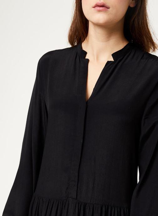 Vêtements MOSS COPENHAGEN Carol Morocco Dress Noir vue face