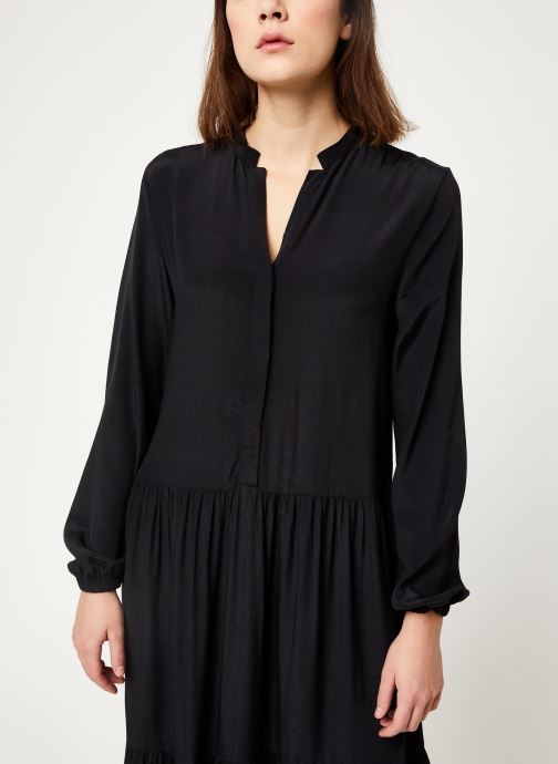 Vêtements MOSS COPENHAGEN Carol Morocco Dress Noir vue droite