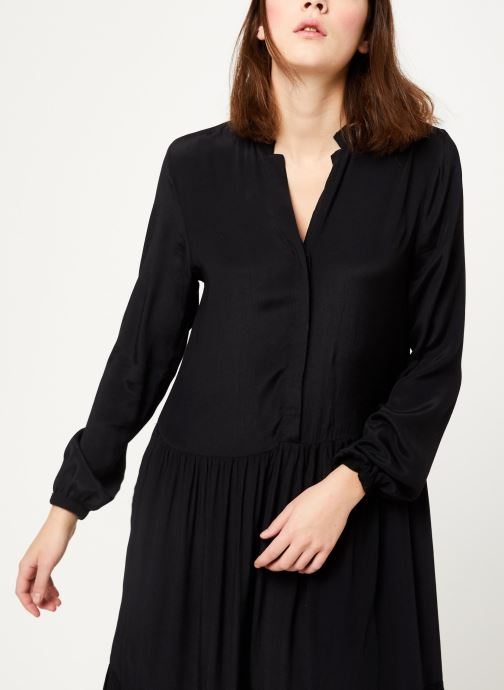 Vêtements MOSS COPENHAGEN Carol Morocco Dress Noir vue détail/paire