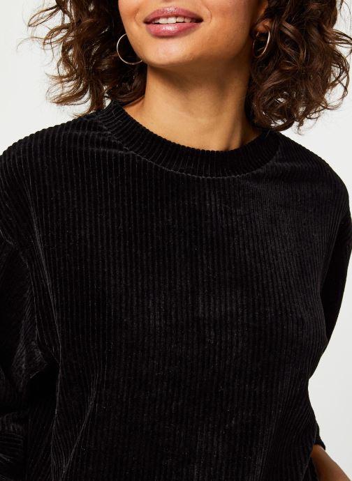 Vêtements MOSS COPENHAGEN Florina Ls Sweat Noir vue face