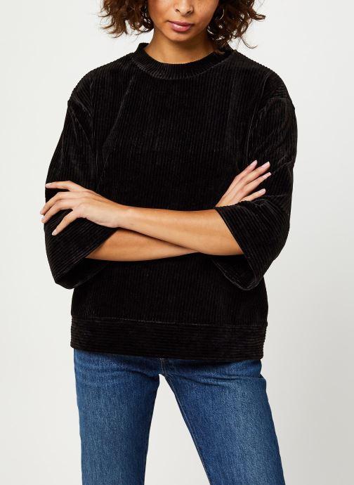 Vêtements MOSS COPENHAGEN Florina Ls Sweat Noir vue droite