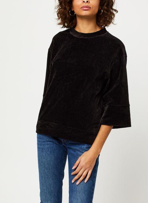 Vêtements MOSS COPENHAGEN Florina Ls Sweat Noir vue détail/paire