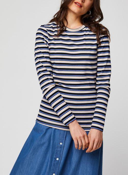 MOSS COPENHAGEN T-shirt - Jane Ls Top (Blanc) - Vêtements(403251)