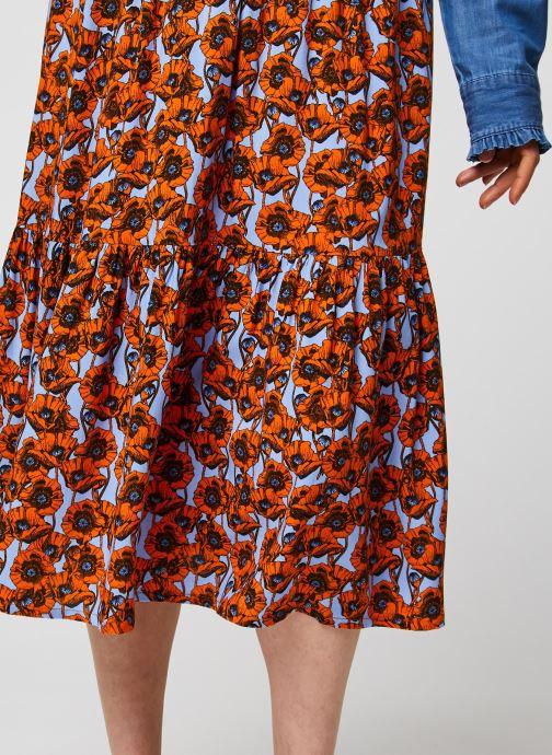 Vêtements MOSS COPENHAGEN Turid Skirt Aop Rouge vue face