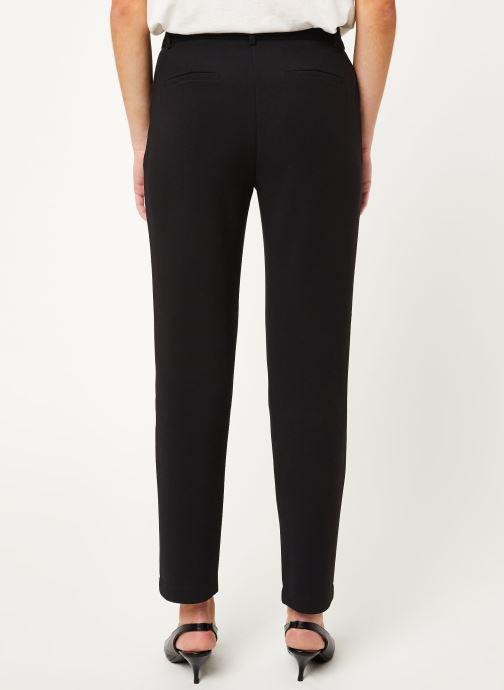Vêtements MOSS COPENHAGEN Zorbae Joe Pants Noir vue portées chaussures