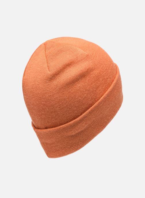 Bonnets MOSS COPENHAGEN Mojo Beanie Orange vue portées chaussures