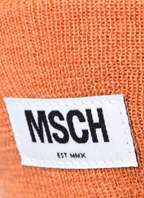 Mütze MOSS COPENHAGEN Mojo Beanie orange ansicht von vorne