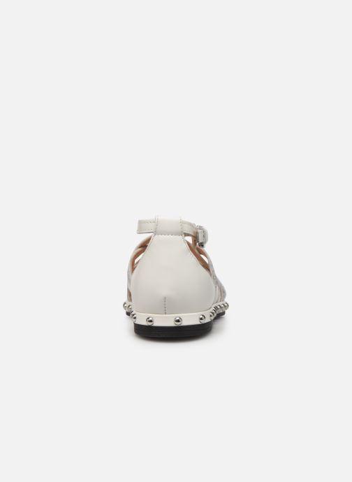 Sandales et nu-pieds Geox D KOLLEEN B D925SB Blanc vue droite