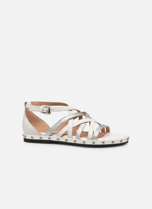 Sandales et nu-pieds Geox D KOLLEEN B D925SB Blanc vue derrière