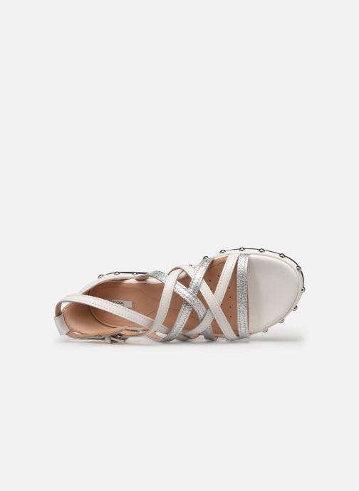 Sandales et nu-pieds Geox D KOLLEEN B D925SB Blanc vue gauche