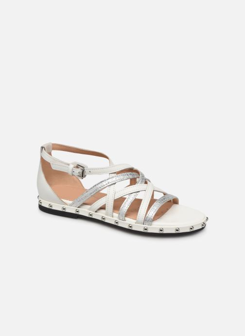 Sandales et nu-pieds Geox D KOLLEEN B D925SB Blanc vue détail/paire