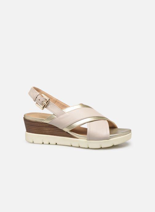 Sandales et nu-pieds Geox D MARYKARMEN P D928AB Or et bronze vue derrière