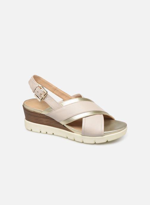 Sandales et nu-pieds Geox D MARYKARMEN P D928AB Or et bronze vue détail/paire