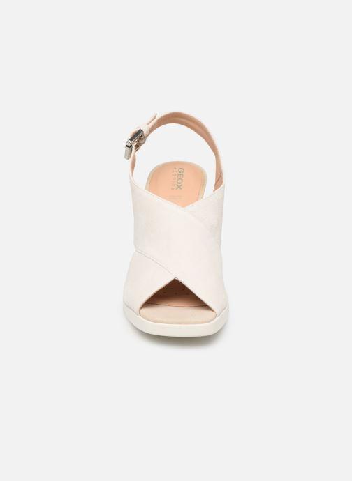 Sandalen Geox D JENIEVE D D92CDD weiß schuhe getragen