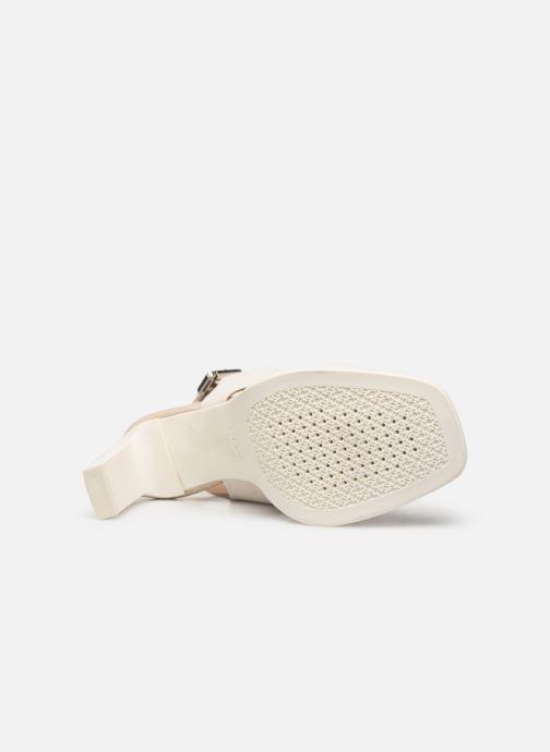Sandales et nu-pieds Geox D JENIEVE D D92CDD Blanc vue haut