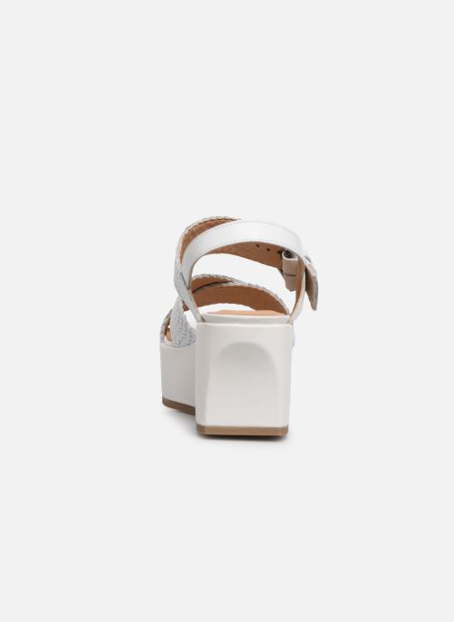 Sandales et nu-pieds Geox D ZERFIE E D92CEE Blanc vue droite