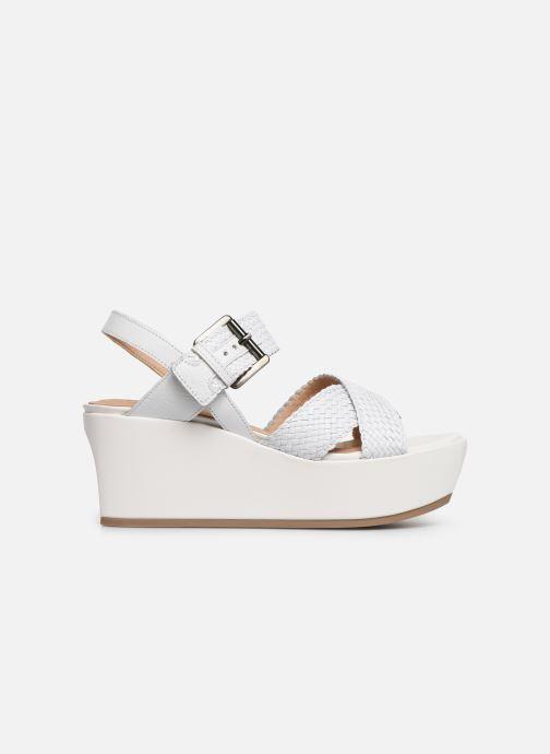 Sandales et nu-pieds Geox D ZERFIE E D92CEE Blanc vue derrière
